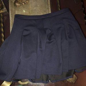 Merona skirt navy sz13 uniform style cute pleated